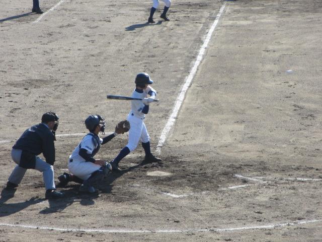 2013.11.17 野球部オープン戦 航空vs津幡 102