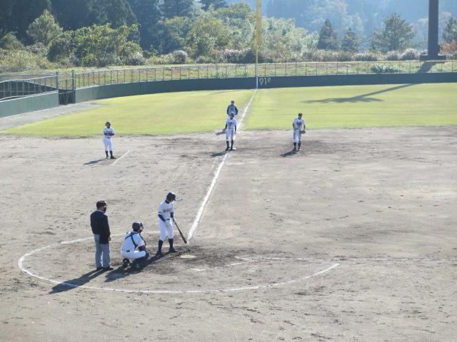 2013.11.17 野球部オープン戦 航空vs津幡 101