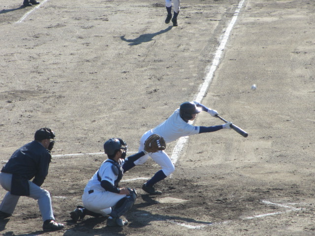 2013.11.17 野球部オープン戦 航空vs津幡 100