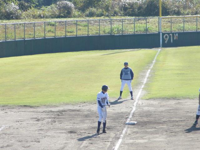 2013.11.17 野球部オープン戦 航空vs津幡 099