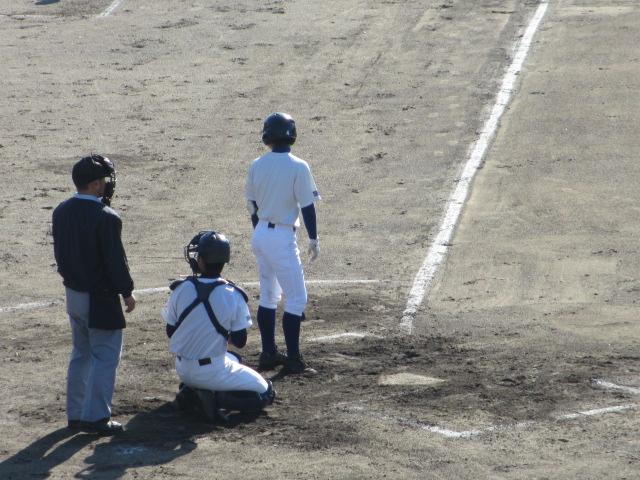 2013.11.17 野球部オープン戦 航空vs津幡 098