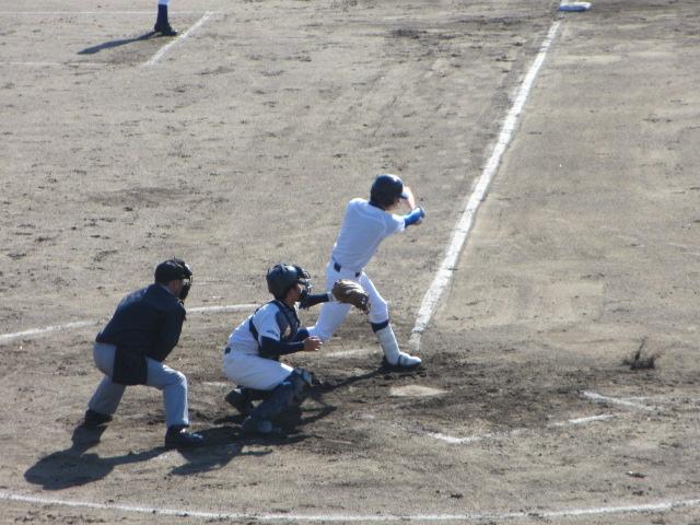2013.11.17 野球部オープン戦 航空vs津幡 108