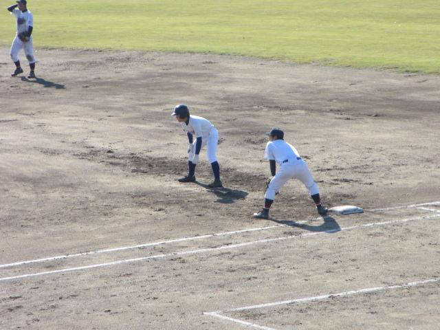 2013.11.17 野球部オープン戦 航空vs津幡 107