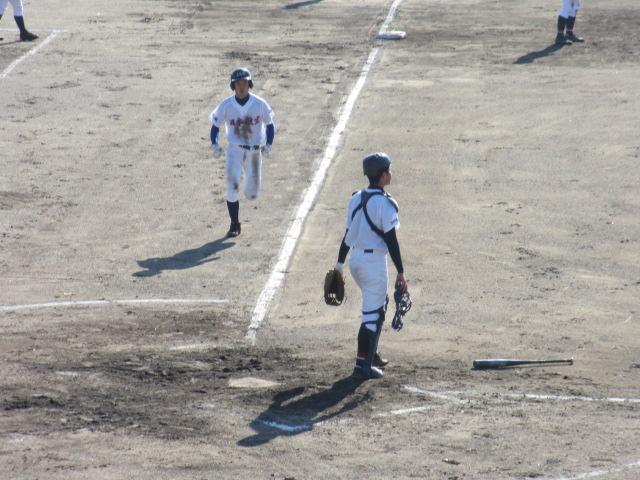 2013.11.17 野球部オープン戦 航空vs津幡 104