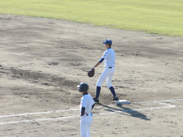 2013.11.17 野球部オープン戦 航空vs津幡 113