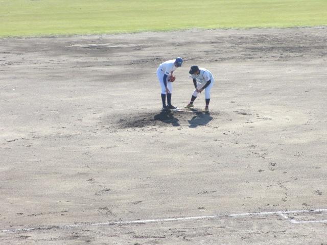 2013.11.17 野球部オープン戦 航空vs津幡 111
