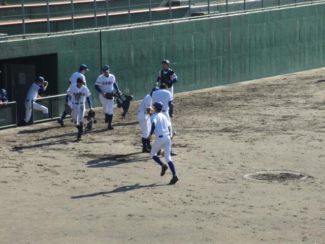 2013.11.17 野球部オープン戦 航空vs津幡 110