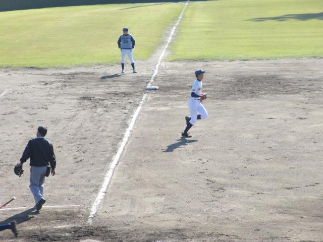 2013.11.17 野球部オープン戦 航空vs津幡 109