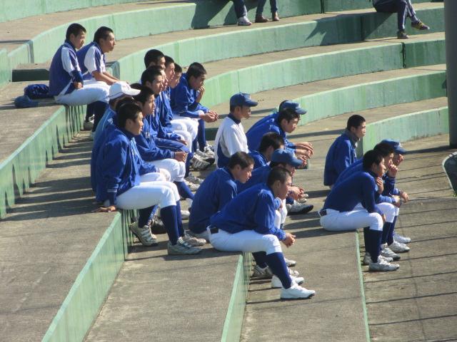 2013.11.17 野球部オープン戦 航空vs津幡 119