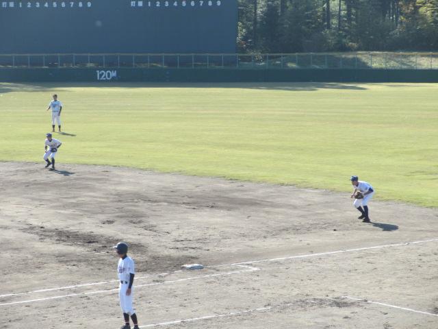 2013.11.17 野球部オープン戦 航空vs津幡 125
