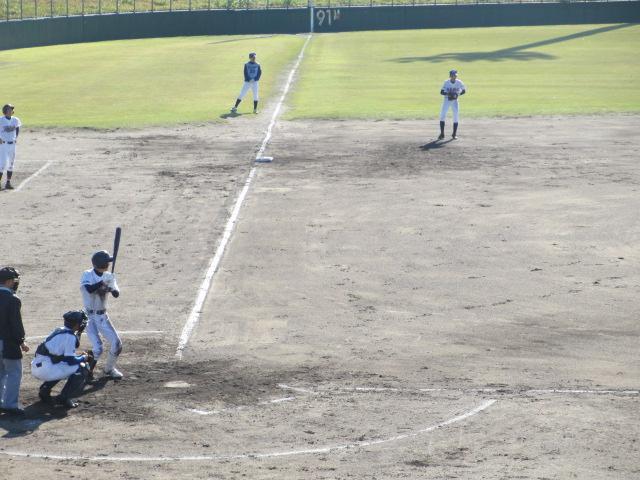 2013.11.17 野球部オープン戦 航空vs津幡 124