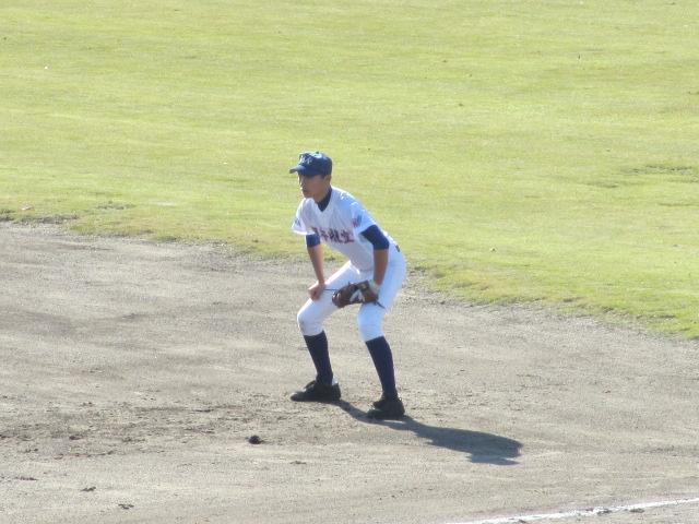 2013.11.17 野球部オープン戦 航空vs津幡 123