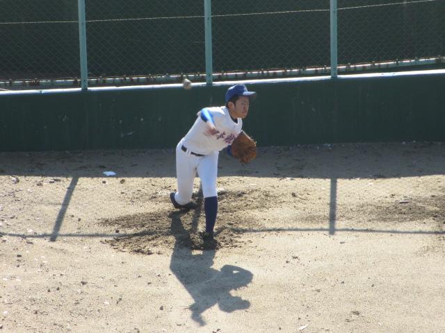 2013.11.17 野球部オープン戦 航空vs津幡 132