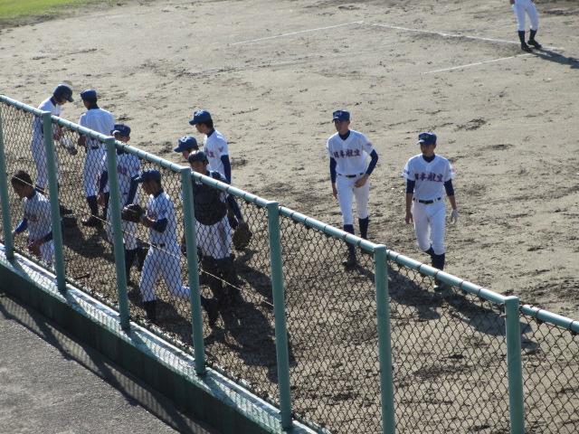 2013.11.17 野球部オープン戦 航空vs津幡 131