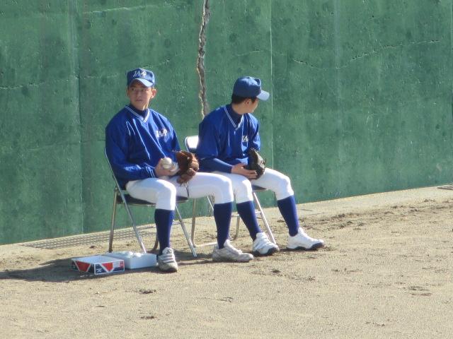 2013.11.17 野球部オープン戦 航空vs津幡 128