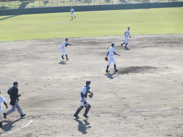 2013.11.17 野球部オープン戦 航空vs津幡 127