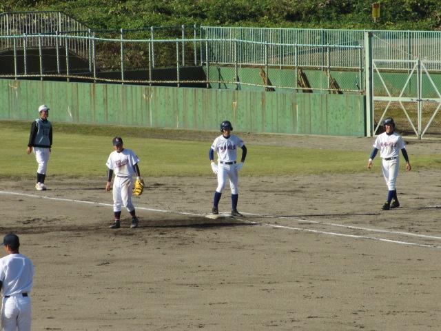 2013.11.17 野球部オープン戦 航空vs津幡 138