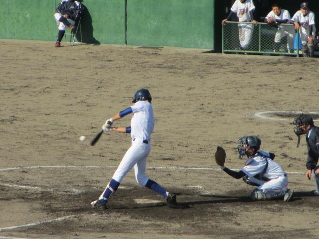 2013.11.17 野球部オープン戦 航空vs津幡 137