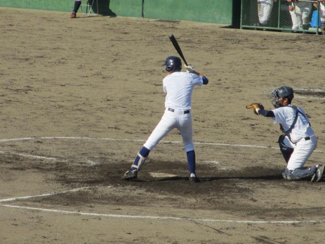 2013.11.17 野球部オープン戦 航空vs津幡 136