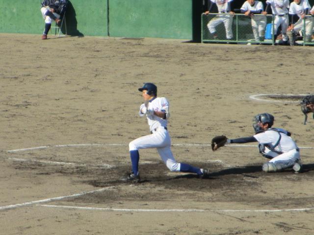 2013.11.17 野球部オープン戦 航空vs津幡 135