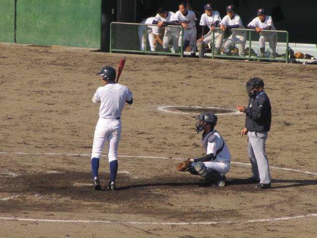 2013.11.17 野球部オープン戦 航空vs津幡 133
