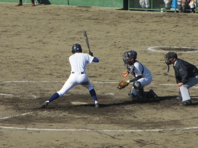 2013.11.17 野球部オープン戦 航空vs津幡 144