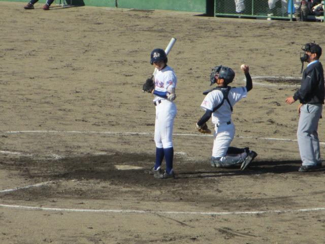 2013.11.17 野球部オープン戦 航空vs津幡 140