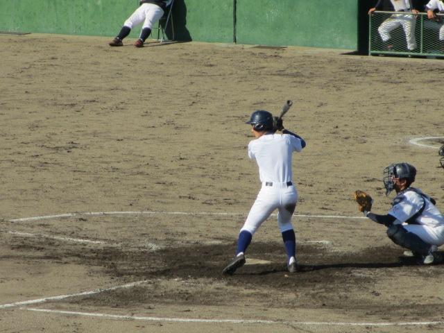 2013.11.17 野球部オープン戦 航空vs津幡 139