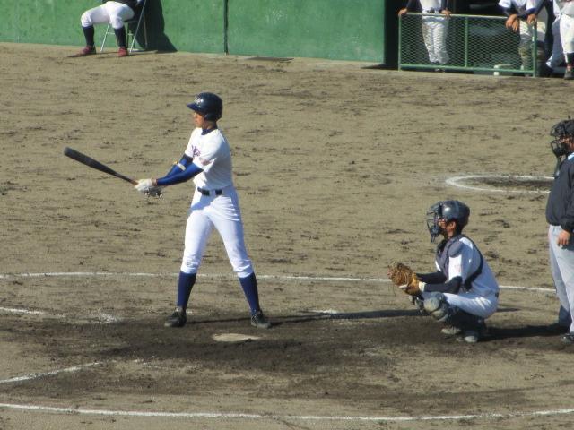 2013.11.17 野球部オープン戦 航空vs津幡 150