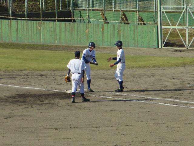2013.11.17 野球部オープン戦 航空vs津幡 149