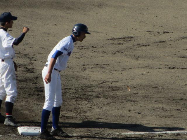 2013.11.17 野球部オープン戦 航空vs津幡 145