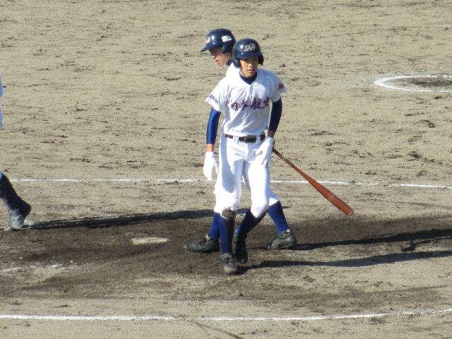 2013.11.17 野球部オープン戦 航空vs津幡 156