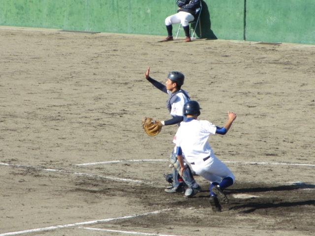 2013.11.17 野球部オープン戦 航空vs津幡 152