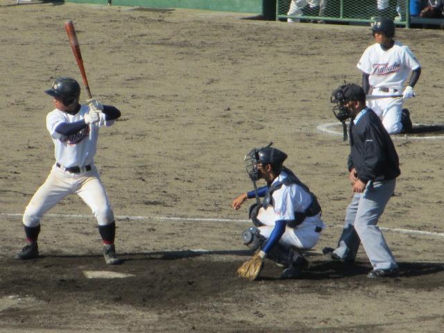 2013.11.17 野球部オープン戦 航空vs津幡 160