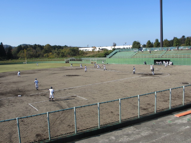 2013.11.17 野球部オープン戦 航空vs津幡 159