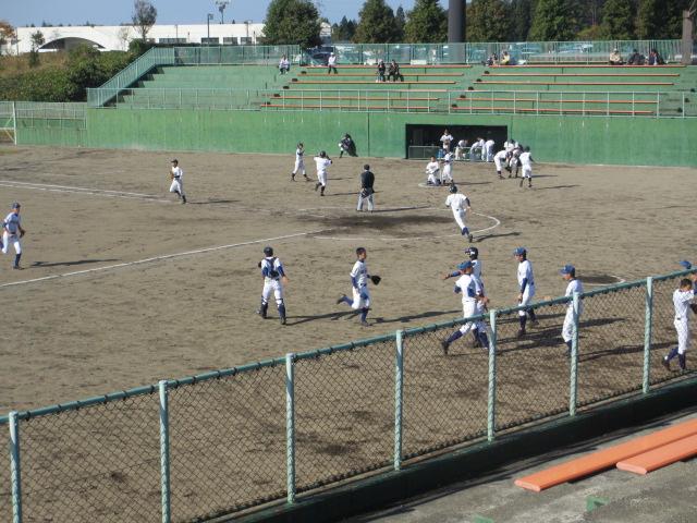 2013.11.17 野球部オープン戦 航空vs津幡 167