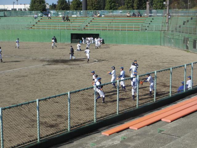 2013.11.17 野球部オープン戦 航空vs津幡 166