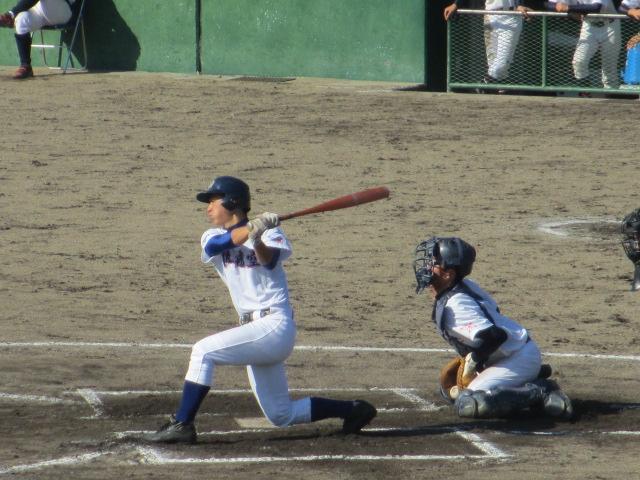 2013.11.17 野球部オープン戦 航空vs津幡 171