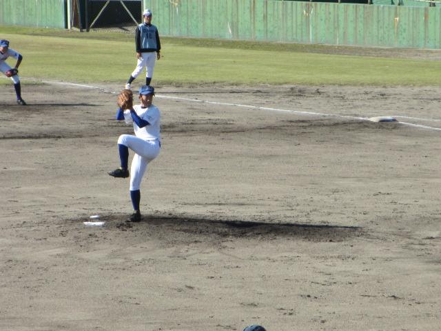 2013.11.17 野球部オープン戦 航空vs津幡 180