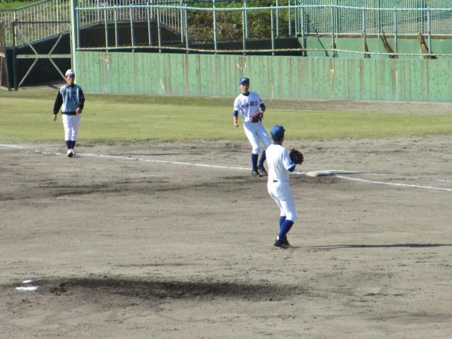 2013.11.17 野球部オープン戦 航空vs津幡 181