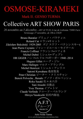 Exposition collective PARIS