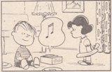 ポータブル・プレーヤー(by Charles M. Schulz)
