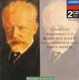 チャイコフスキー交響曲第1、2、3番(マゼール指揮ウィーンフィル1964年)LONDON