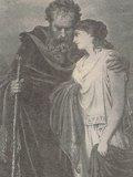 テッシェンドルフ 「盲目の父オイディプスに従うアンティゴネー」
