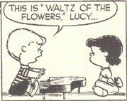 (2)これは「花のワルツ」だよ、ルーシー