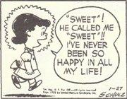 (4)彼、わたしのこと「スイート」ですって。こんなに幸せな気持ち 初めて!