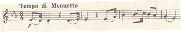 楽譜 ベートーヴェン七重奏曲 変ホ長調 作品20 第3楽章