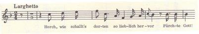楽譜 ベートーヴェン 歌曲「うずらの鳴き声」