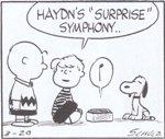 (4)ハイドンの「びっくり」シンフォニー 聴いてるんだ