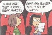 (1)今日は何を演るのマーシー、 ハイドンの96番ですよ